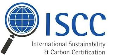 ISCC INTERNATIONAL SUSTAINABILITY & CARBON CERTIFICATION