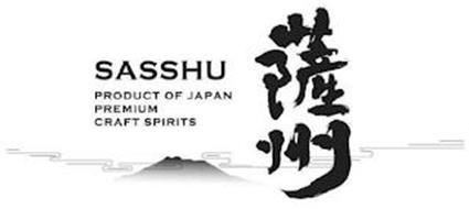 SASSHU PRODUCT OF JAPAN PREMIUM CRAFT SPIRITS