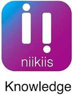 II NIIKIIS KNOWLEDGE