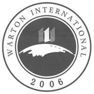 WARTON INTERNATIONAL 111 2006