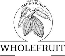100% PURE CACAO FRUIT WHOLEFRUIT