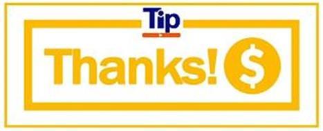 TIP THANKS! $