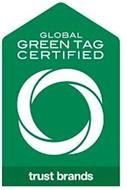 TRUST BRANDS GLOBAL GREEN TAG CERTIFIED