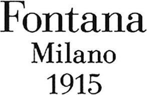 FONTANA MILANO 1915
