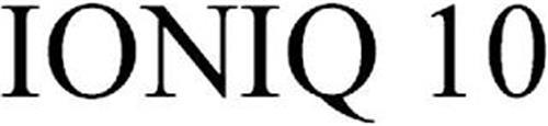 IONIQ 10