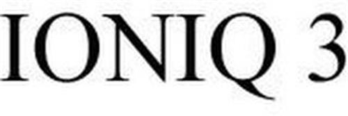 IONIQ 3