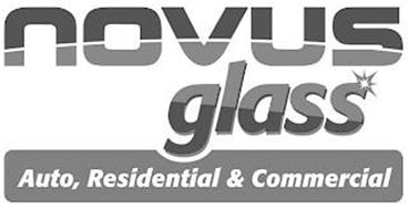 NOVUS GLASS AUTO, RESIDENTIAL & COMMERCIAL