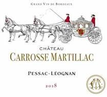CHATEAU CARROSSE MARTILLAC PESSAC-LÉOGNAN 2018 GRAND VIN DE BORDEAUX
