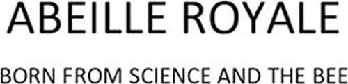 ABEILLE ROYALE BORN FROM SCIENCE AND THE BEE