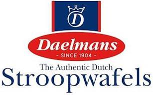 D DAELMANS SINCE 1904 THE AUTHENTIC DUTCH STROOPWAFELS