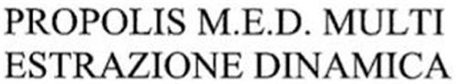 PROPOLIS M.E.D. MULTI ESTRAZIONE DINAMICA