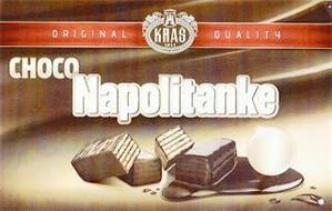 CHOCO NAPOLITANKE ORIGINAL QUALITY KRAS 1911