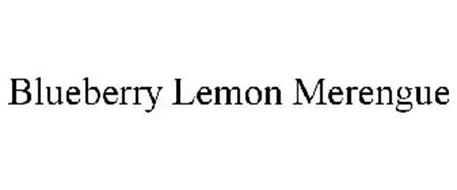 BLUEBERRY LEMON MERENGUE