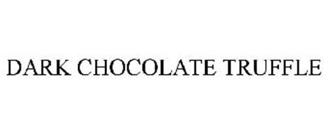DARK CHOCOLATE TRUFFLE