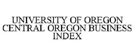 UNIVERSITY OF OREGON CENTRAL OREGON BUSINESS INDEX