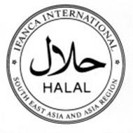 HALAL IFANCA INTERNATIONAL SOUTH EAST ASIA AND ASIA REGION