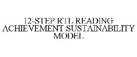12-STEP READING ACHIEVEMENT SUSTAINABILITY MODEL