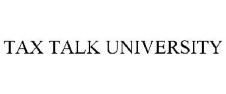 TAX TALK UNIVERSITY