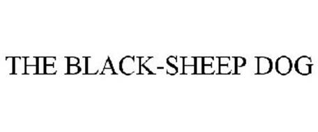 THE BLACK-SHEEP DOG
