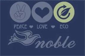 PEACE LOVE ECO NOBLE