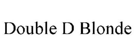 DOUBLE D BLONDE