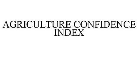 AGRICULTURE CONFIDENCE INDEX