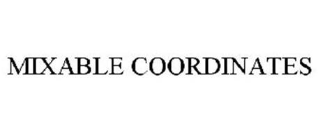 MIXABLE COORDINATES