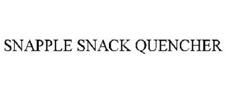 SNAPPLE SNACK QUENCHER
