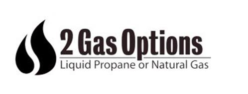 2 GAS OPTIONS LIQUID PROPANE OR NATURAL GAS