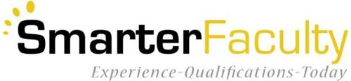 SMARTERFACULTY EXPERIENCE QUALIFICATIONS TODAY
