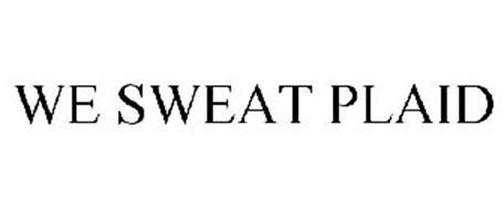 WE SWEAT PLAID