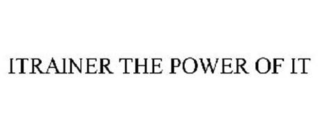 ITRAINER THE POWER OF IT