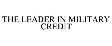 THE LEADER IN MILITARY CREDIT
