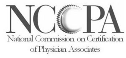 NCCPA NATIONAL COMMISSION ON CERTIFICATION OF PHYSICIAN ASSOCIATES