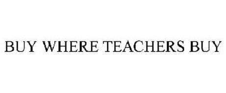 BUY WHERE TEACHERS BUY