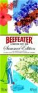 BEEFEATER LONDON DRY GIN SUMMER EDITION A SUMMERY GIN WITH ELDERFLOWER, BLACKCURRANT & HIBISCUS FLOWER