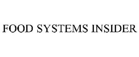 FOOD SYSTEMS INSIDER