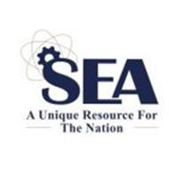 SEA A UNIQUE RESOURCE FOR THE NATION