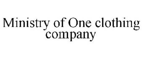 MINISTRY OF ONE CLOTHING COMPANY