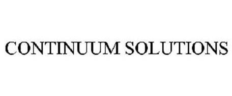 CONTINUUM SOLUTIONS