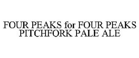 FOUR PEAKS FOR FOUR PEAKS PITCHFORK PALE ALE
