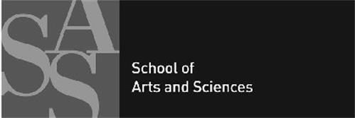 SAS SCHOOL OF ARTS AND SCIENCES