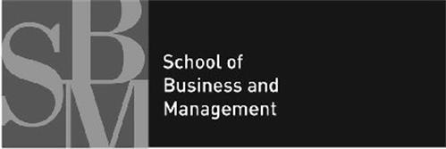 SBM SCHOOL OF BUSINESS AND MANAGEMENT