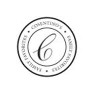 COSENTINO'S FAMILY FAVORITES FAMILY FAVORITES C
