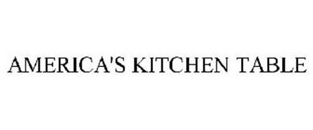 AMERICA'S KITCHEN TABLE