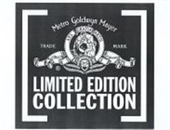 limited edition collection metro goldwyn mayer trade mark ars gratia
