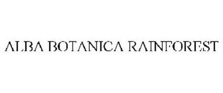 ALBA BOTANICA RAINFOREST