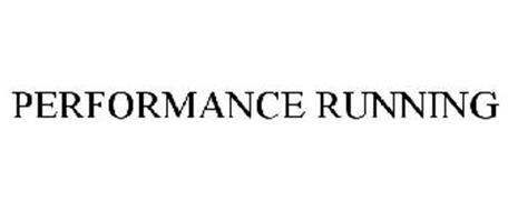 PERFORMANCE RUNNING