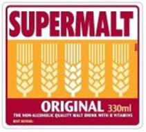SUPERMALT ORIGINAL THE NON-ALCOHOLIC QUALITY MALT DRINK WITH B VITAMINS