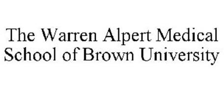 THE WARREN ALPERT MEDICAL SCHOOL OF BROWN UNIVERSITY